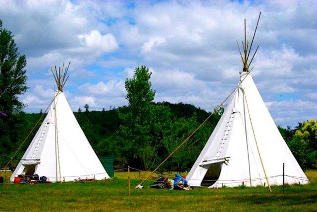 tipi-camping