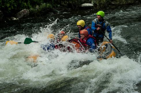 vivre des sensations fortes en rafting
